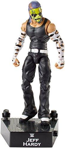 WWE FML10 Figurine d'entrée Greats Jeff Hardy, Les Couleurs/Styles Peuvent Varier