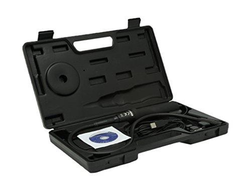 Preisvergleich Produktbild Trebs Comfortcam 22127 Endoskop mit USB und flexiblem Schwanenhals (66 cm) und wasserdichter Kamera (14 mm), Video- und Fotoaufnahmen, Bedienung erfolgt über USB Verbindung