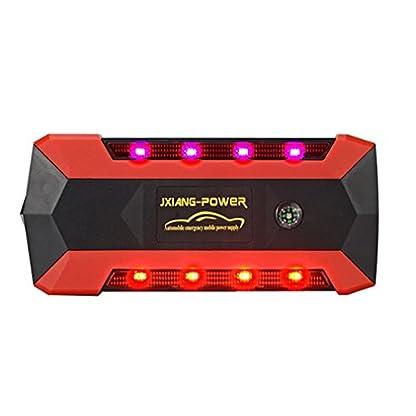 418z3G7vw4L. SS416  - WJJ- Car Jump Starter 600A Aumento máximo de 13600mAh Fuente de alimentación de emergencia Fuente de emergencia de arranque automático y luz de flash LED ultra brillante para SOS
