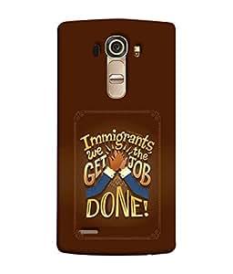FUSON Designer Back Case Cover for LG G4 :: LG G4 Dual LTE :: LG G4 H818P H818N :: LG G4 H815 H815TR H815T H815P H812 H810 H811 LS991 VS986 US991 (Illustration Inspiration Change Motivate )