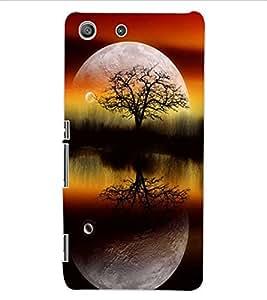 ColourCraft Night Vision Design Back Case Cover for SONY XPERIA M5 E5603 / E5606 / E5653