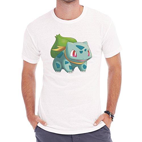 Pokemon Bulbasaur First Generation Scarf Herren T-Shirt Weiß