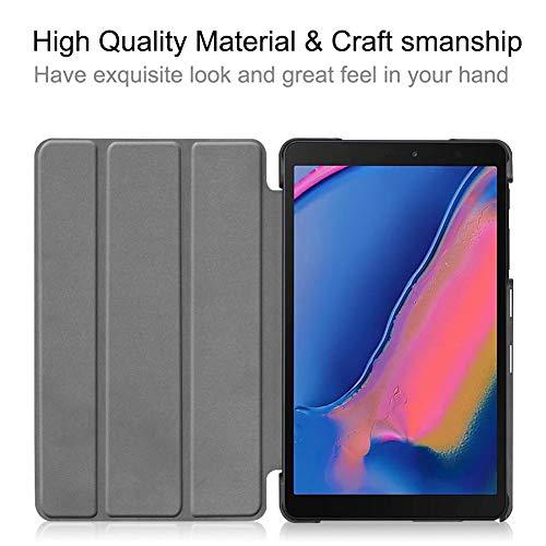3-Folded Standing Case für Samsung Galaxy Tab A 8,0 Zoll 2019 S-Pen Magnetabdeckung für Samsung Tab SM-P200 SM-P205 Funda Capa - 8 Samsung Tab Funda 3