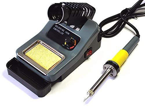 Komerci Regelbare Lötstation ZD-8906 Lötkolben Temperatur stufenlos einstellbar 160-480°C Grau