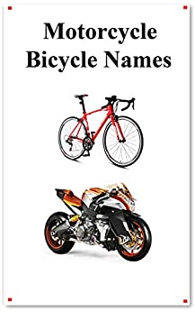 Motorcycle Bicycle Names: Picture Motorcycle Bicycle Names Epub Descargar