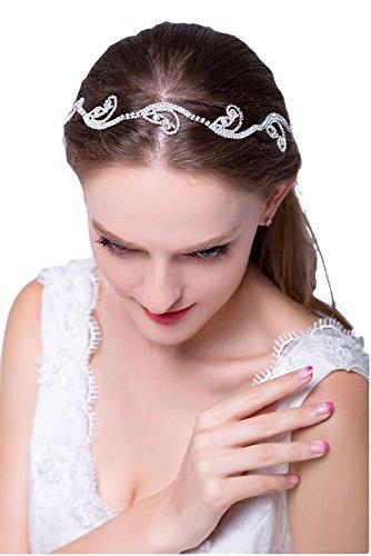Promgirl House Ein Stueck Prächtig Legierung Tiaras/Stirnbänder (Tiara Pailletten)