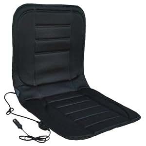 Systafex Carbon Auto-Sitzauflage für PKW 12V mit Stufenschalter
