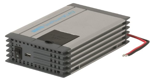 Preisvergleich Produktbild Dometic SinePower MSI 412,  Sinus-Wechselrichter,  Auto Spannungswandler 12 V auf 230 V,  Überspannungsschutz,  USB-Port,  350 W,  mobile Steckdose