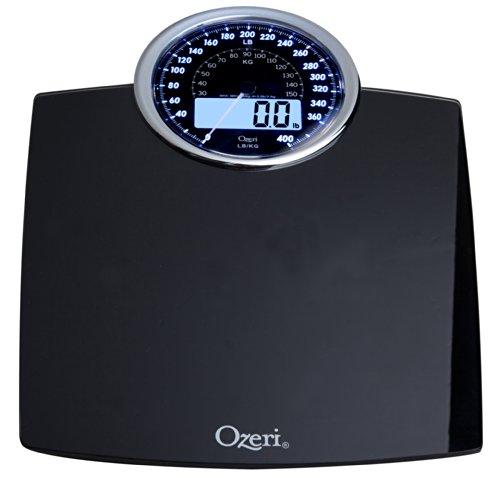 Bilancia digitale da bagno Ozeri Rev con quadrante elettromeccanico (nera) - 5