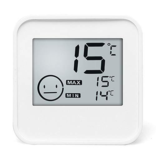 Termómetros Inicio termómetro de temperatura y humedad interior del medidor sitio del bebé de pared...