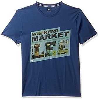 Lee Men's Solid Slim fit T-Shirt