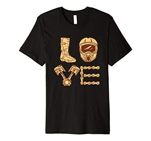 Ich liebe Motocross - I Love Motocross - Supermoto T-Shirt
