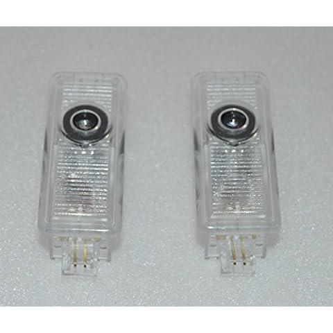 LED plafones de puerta luces de cortesia luces de puerta proyector logo Peugeot 407 2004-2010