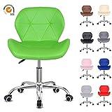Birtech Swivel Office Chair Furniture Computer Desk Seat PU Leather Padded Home Ergonomic