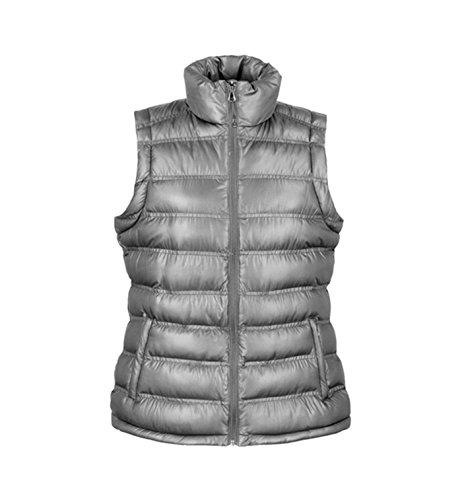 Gilet da Donna di moda Imbottito leggero Ice Bird Padded Gilet Frost Grey