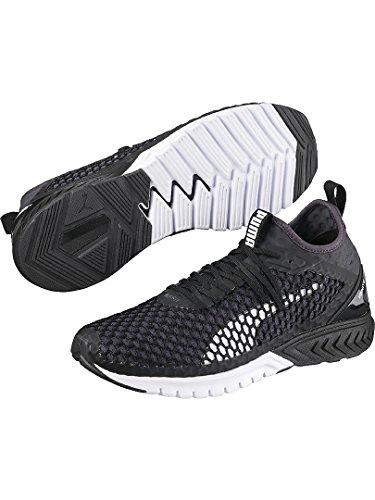 Puma Herren Ignite Dual Netfit Outdoor Fitnessschuhe Schwarz (Black-Quiet Shade)