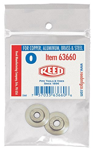 Reed Cutter Wheel (Reed Tool 2PK-R2558 Cutter Wheels for Tubing Cutters, 2-Pack by Reed Tool)