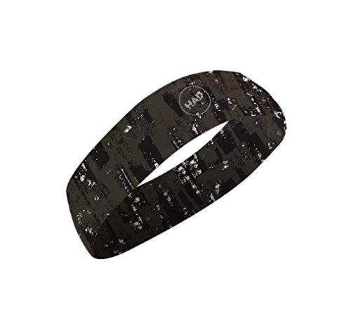 Preisvergleich Produktbild HAD COOLMAX SLIM schmales Stirnband Crush,  LSF 40 +,  kühlend,  schwarz,  Polyester,  one size