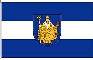Hochformatflagge Bad Salzungen - 80 x 200cm - Flagge und Fahne