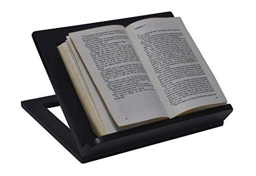 MOJO PANDA Mojo PandaBlack Wooden Book Holder Recipe Rack