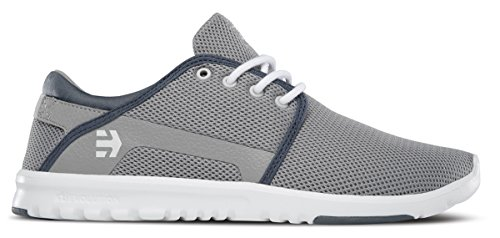 Etnies Scout, Color: Grey/White/Green, Size: 46 EU (12 US / 11 UK)