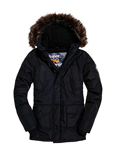 Expedition Parka (Superdry Parka Herren SD EXPEDITION PARKA Black, Größe:S)