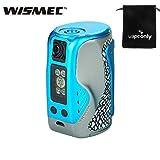 WISMEC Reuleaux Tinker 300 W TC MOD Cigarette électronique Vape Vaporizer Support Réservoir Colonne Pas de batterie Pas de Nicotine, Pas de Liquide E (bleu)