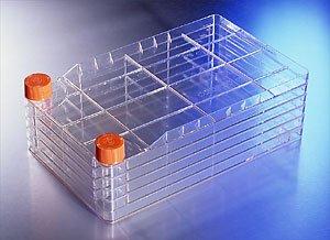 Corning 3313Polystyrol cellstack–5Kammer mit Vent Kappen (8Stück)