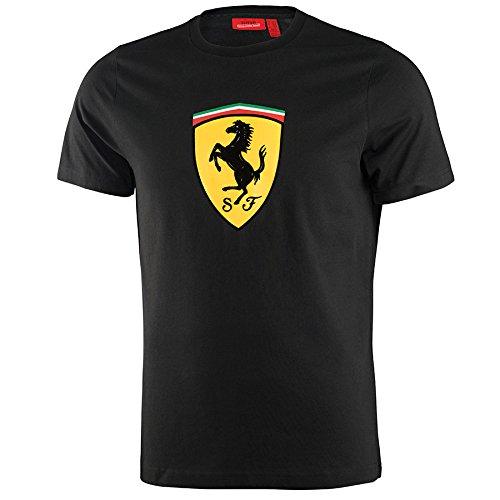 Scuderia Ferrari Camiseta Oficial Clásica Negra M