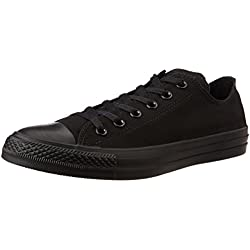 Converse Unisex Mono Black Sneakers - 9 UK/India (42.5 EU)