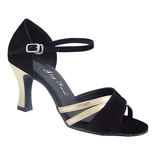 Latin Dance Schuhe für Erwachsene/ Lady weich Tanzschuhe am Ende des/Anti-Schiebe Verschleiß Tanzschuhe C