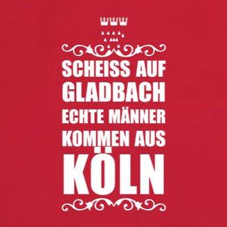 Scheiss auf Gladbach - Stofftasche / Beutel Hellgrün