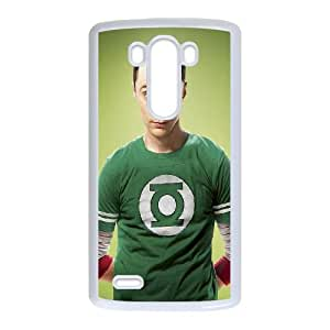 Big Bang Theory Sheldon LG G3 Cell Phone Case White phone component AU_459293