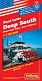 Hallwag USA Road Guide, No.10, Deep South - Rand McNally and Company