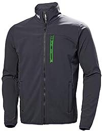 Helly Hansen Crew Softshell Jacket, Chaqueta deportiva para Hombre, Azul (Azul Grafito 994