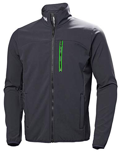 Helly Hansen Herren Crew Softshell Jacket Trainingsjacke, Blau (Azul Grafito 994), X-Large