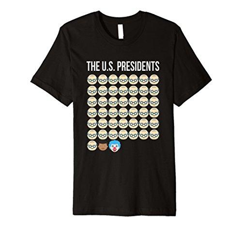 Funny Anti Trump Emoji-Geschenk Shirt für Frauen und Herren