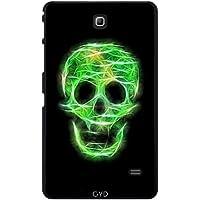 Custodia per Samsung Galaxy Tab 4 (7 pollici) - Cranio Scintillante Verde by UtArt