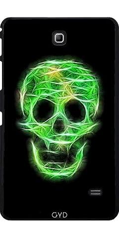 Coque pour Samsung Galaxy Tab 4 (7 pouces) - Crâne Mousseux Vert by UtArt