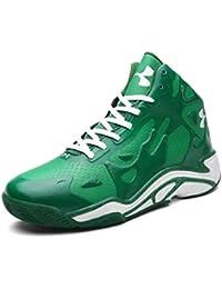 best sneakers a6f9b 9c6e6 OOFAN High Top Sneakers Four Seasons Scarpe da Basket Abbigliamento da Uomo Antiscivolo    Smorzamento Uomo Scarpe…