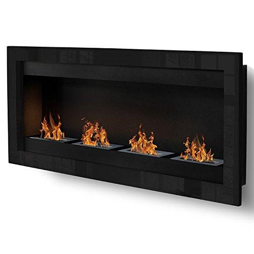 SevenFire-XL-Chimenea-de-etanol-negro-estufa-ecolgico-pared