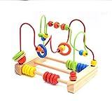 DASGF Perlenlabyrinth, Edles Holzspielzeug, Puzzle-BäLle Mit Babyspielzeug FüR Mehr Als 12 Monate, Kinder-Lernspielzeug Zum Basteln Von Kindern, Tierorbit-Labyrinth.