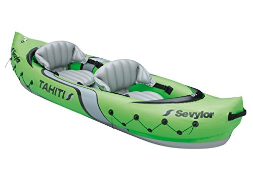 Sevylor Kayak Gonflable Tahiti, Canoë Canadien 2 Places, Kayak de Mer, 315 x 85 cm