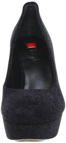 Högl shoe fashion GmbH 6-109007-01000, Scarpe con plateau donna nero (Schwarz (schwarz 0100))