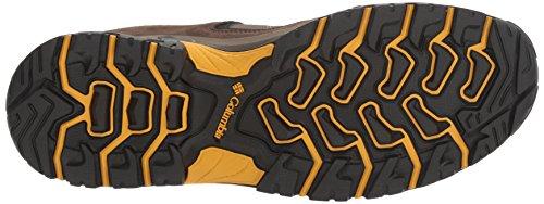 Columbia Mens Granite Ridge Hiking Shoe Mud, Golden Yellow