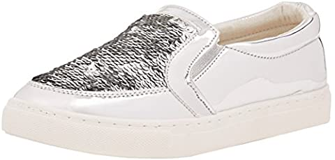 Baskets Pump - Boohoo Sequin Slip On Pumps, Baskets Basses