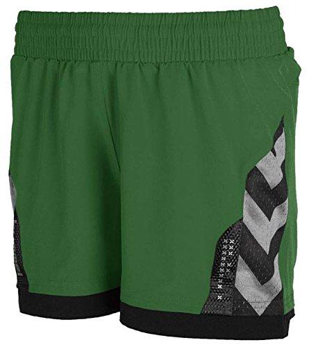 Hummel Technical X Womens Poly Short green Damen evergreen, XL (42)