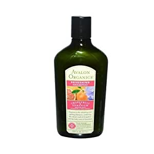 Avalon Organics Refreshing Shampoo Grapefruit and Geranium - 11 fl oz by Leadoff
