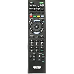 ALLIMITY RM-ED052 Control Remoto de reemplazo Apto para Sony KDL-55W905A KDL-46W905A KDL-40W905A KDL-47W805A KDL-47W807A KDL-42W805A KDL-42W807A KLD-42W655A