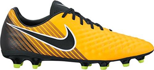 Nike Magista Onda Ii Fg, Chaussures de Football Homme Multicolore (Laser Orange/black/white/volt)